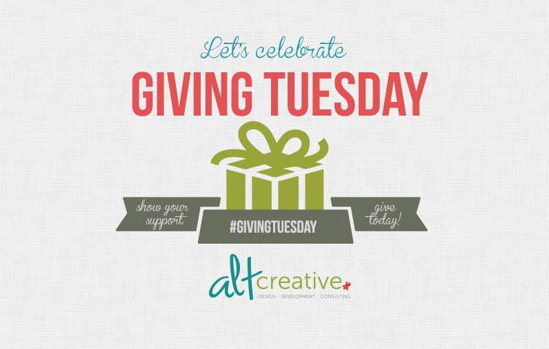 portfolio item #GivingTuesday is here!