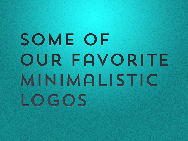 portfolio item Some of our Favorite Minimalist Logos