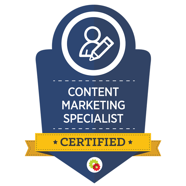 Alt Creative is a certified Content Marketing Specialist