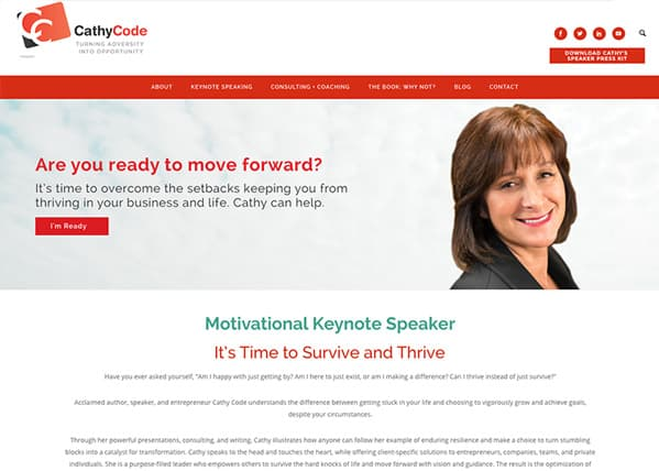 Cathy Code Website
