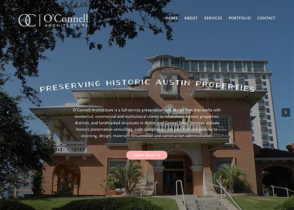 O'Connell Preservation Website