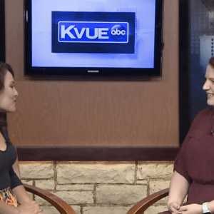 Alt Creative President, Lindsey Tyner, featured on KVUE's Wednesday's Woman.